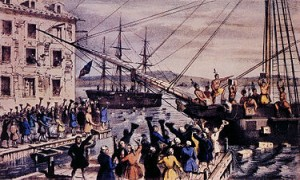Boston Tea Party - December 1773