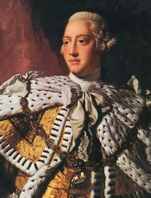 George III at the Time of His Coronation (James Ramsey)