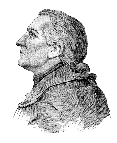 Sketch of Maj. General John Paterson from the Connecticut Sons of the American Revolution Website