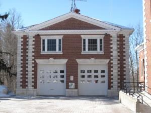 14 Walker St., Lenox Fire House  - c. 1909