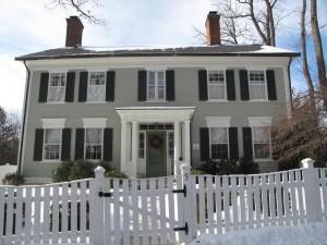 9 Cliffwood St., Calvin Burnham House - c. 1805