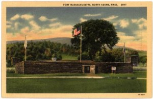 Replica of Fort Massachusetts (now North Adams)