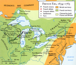 The Four Wars Fought in 17th and 18th Century North America Concerned, Among Other Things, Who Would Control the Northern United States
