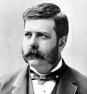 George Westinghouse at an early age in 1884.