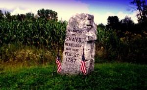 Shays Rebellion monument
