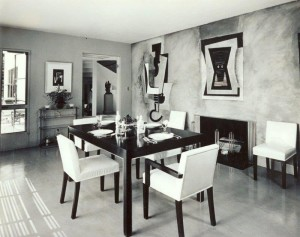 Dining Room with Frescoes