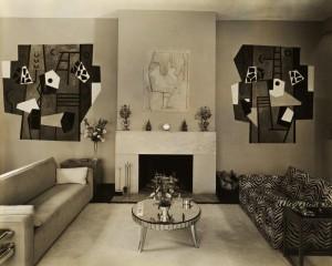 Living Room with Fresco