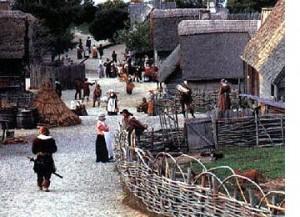 Settlements Based on Church