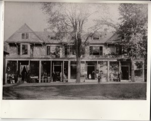 Lenox Main Street Before the 1909 Fire