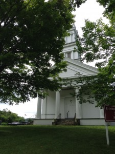 Tyringham Union Church - Location of Bidwell House Lecture June 20, 2015