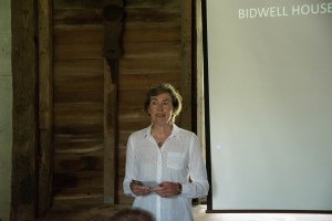 Bidwell House Executive Director Barbara Palmer