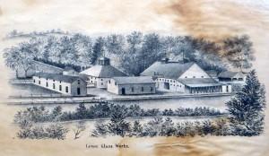 Lenox Glass Works c.1860