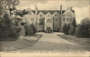 Overlee Residence of Samuel Frothingham - 1903