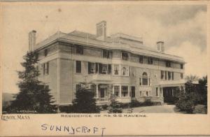 Sunnycroft - 1888