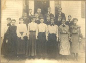 Graduating Class c. 1900