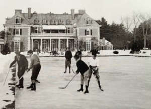 Hockey at High Lawn - Built 1909