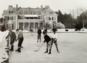 Hockey at High Lawn - Built 1909