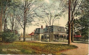 The Old Lenox Club - 1860's?