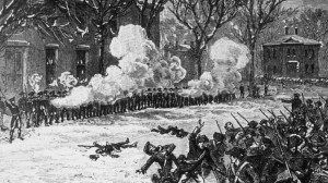 Stormed Springfield Armory for Weapons in January 1787