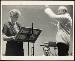 Eleanor Roosevelt and Serge Koussevitsky