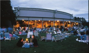 Picnics on the Lawn of the Tanglewood Shed